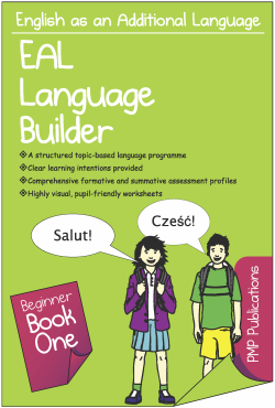 Photograph of EAL Beginner Book 1 front cover
